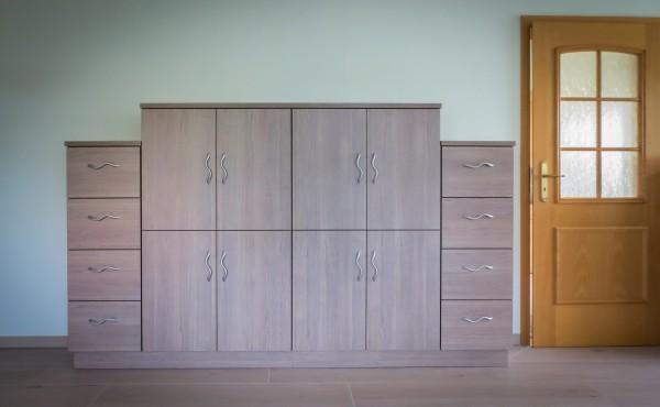 Wohnzimmermöbel aus Melaminharz beschichtetem Plattenmaterial (1)